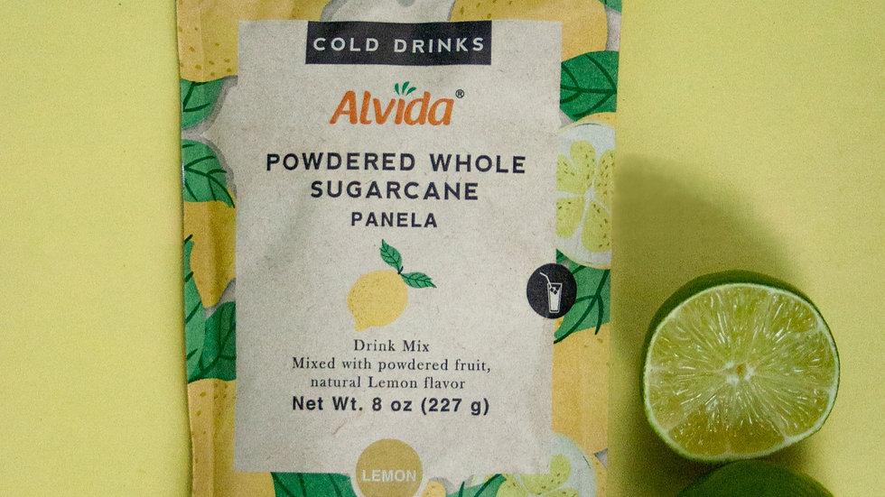 Alvida: Powdered Whole Sugarcane Lemon Flavored