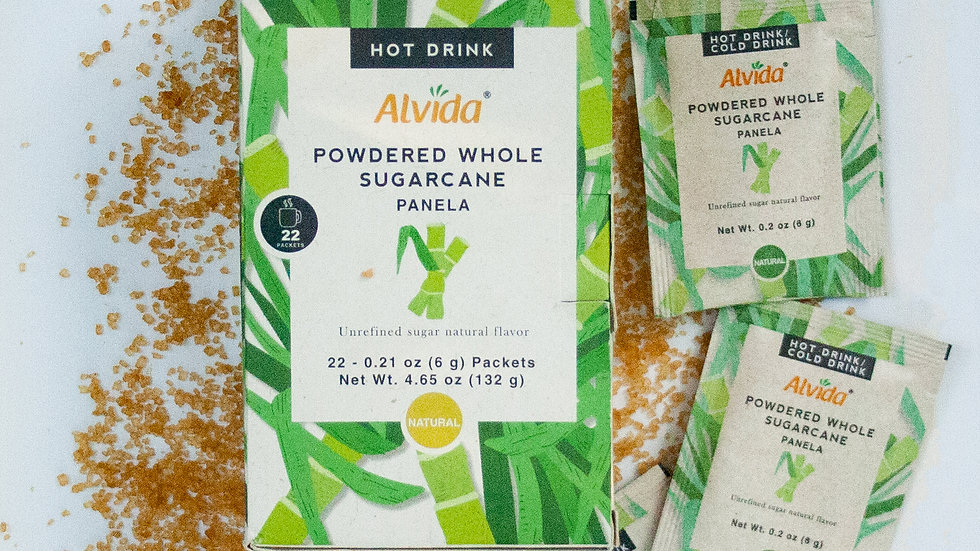 Alvida Hot Drink : Powdered Whole Sugarcane Original Flavor