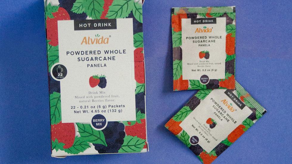 Alvida Hot Drink : Powdered Whole Sugarcane Berries Flavor