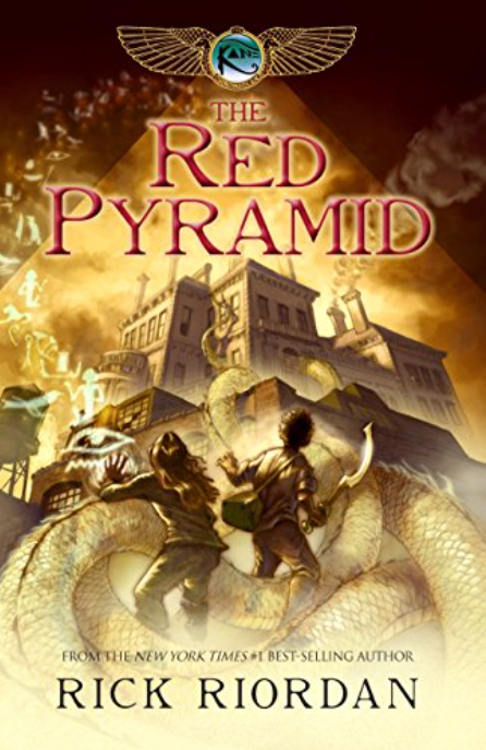 The Red Pyramid.  The Kane Chronicles Book One