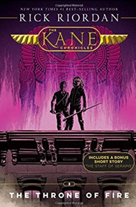 The Kane Chronicles, Book 2,The Throne of Fire