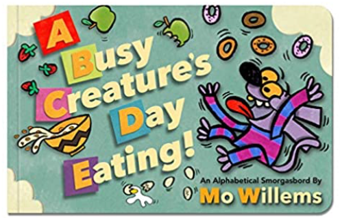 A Busy Creature's Day Eating!