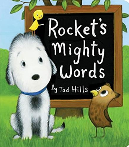 Rocket's Might Words Board Book