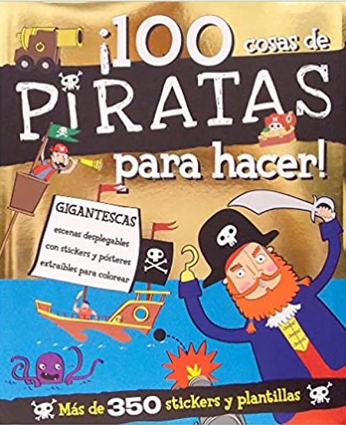 100 Cosas de Piratas Para Hacer!  Activity Book