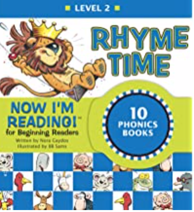 Now I'm Reading!  Rhyme Time Level 2