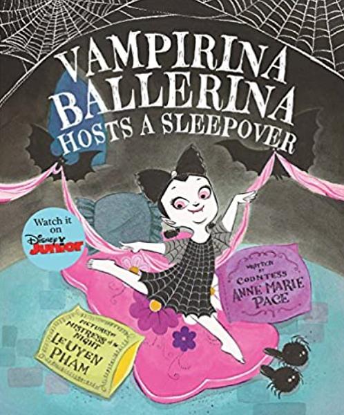 Vampirina Ballerina Hosts a Sleepover