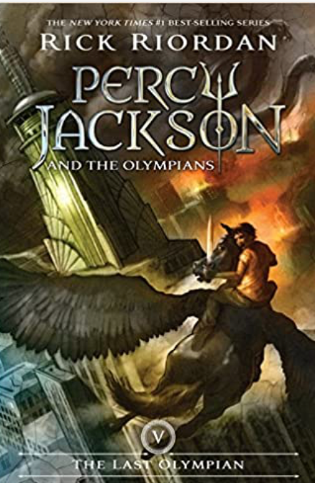 Percy Jackson and the Olympians, The Last Olympian