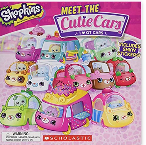 Shopkins Meet the Cutie Cars