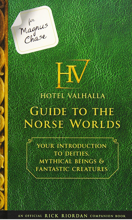 Hotel Valhalla, Guide to the Norse Gods, Percy Jackson