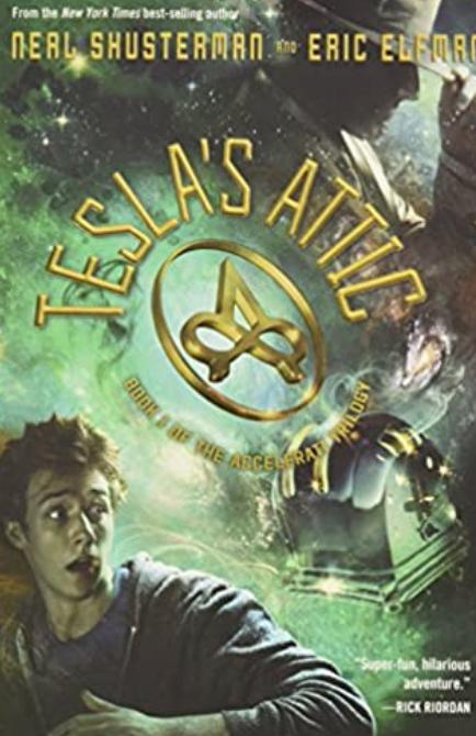 Tesla's Attic, The Accelerati Trilogy Book 1