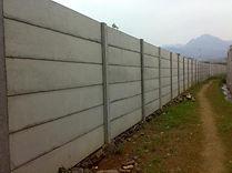 pagar panel beton dan kolom panel