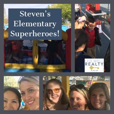 Steven's Elementary Superheroes!