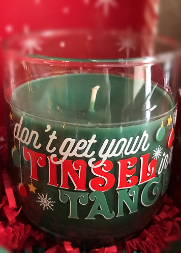 Don't get your Tinsel in a Tangle 12oz Handmade Candle