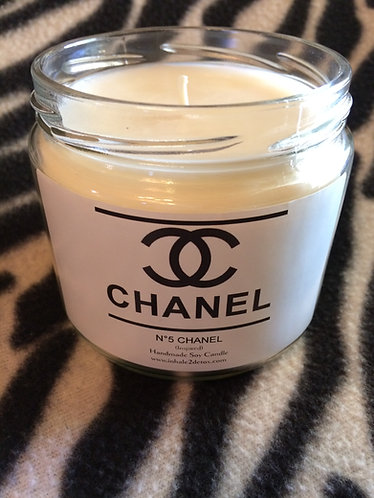 Chanel Number 5 inspired 12oz Soy Candle