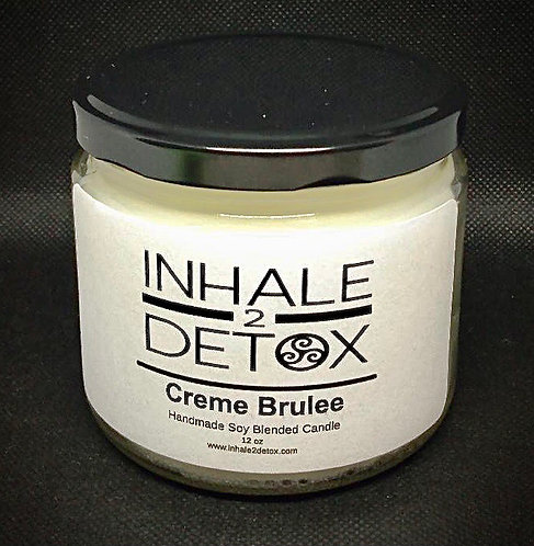 Creme Brulee Scented 12oz Soy Candle