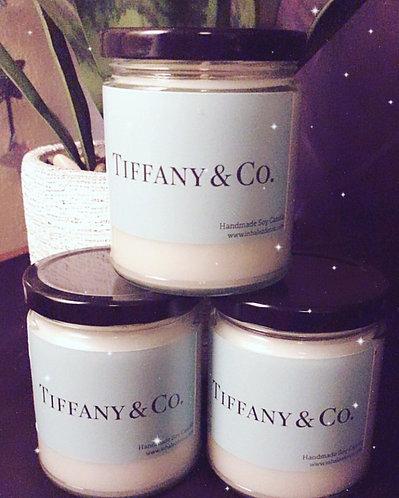Tiffany inspired 9oz Handmade Candle