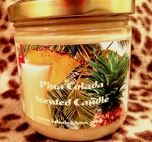 Pina Colada Scented Soy Candle