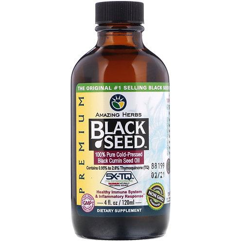 Amazing Herbs Black Seed Oil 4oz fl