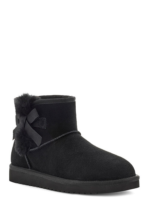 Ugg Victoria Mini Faux Fur Trimmed Boot