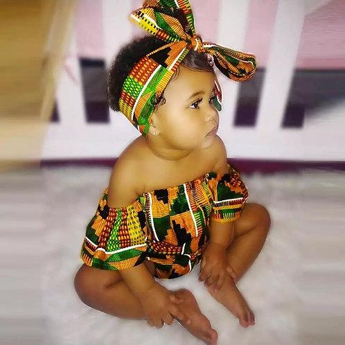 African Baby Set