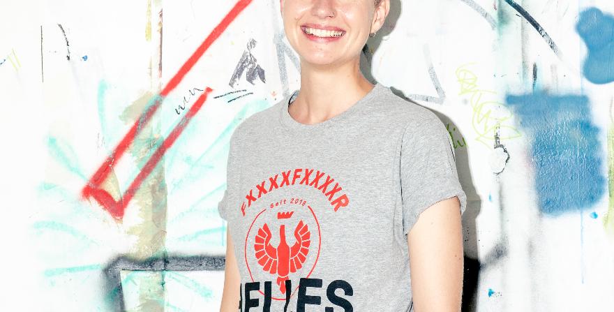 """Shirt """"FXXXXFXXXXR HELLES"""""""