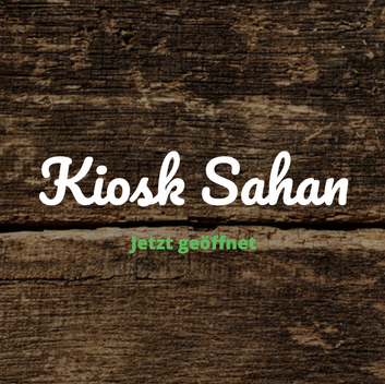 Kiosk Sahan
