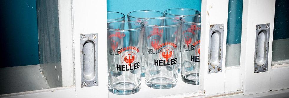 """Glas """"FXXXXFXXXXR HELLES"""" 0.2 Liter"""