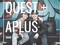 B boy Aplus and B girl Quest Luke 23