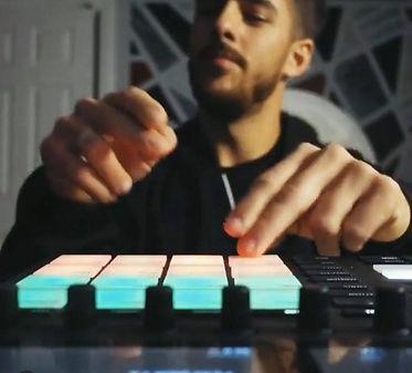 Isaac wh making beats.jpg