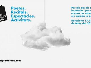 Coaching de Escritores en Utopía Markets de Poesía