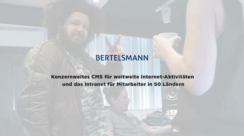 Das Intranet von Bertelsmann BENET