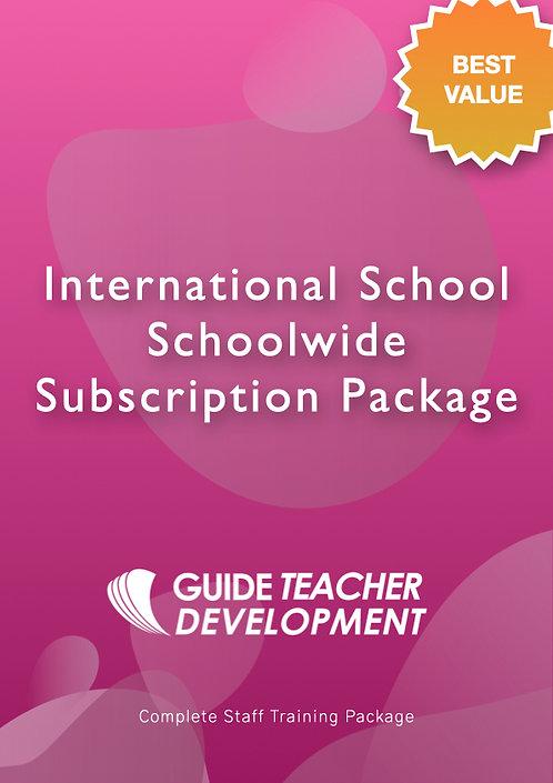 International School Schoolwide Subscription