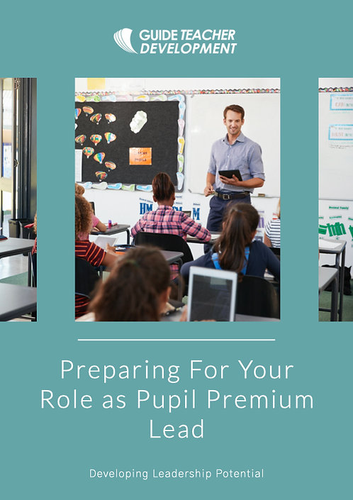 Preparing for your role as pupil premium lead