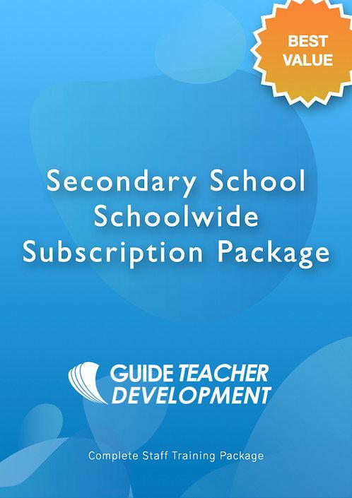Secondary Schools Schoolwide Subscription
