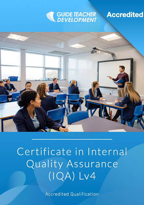 Certificate in Internal Quality Assurance Lv4
