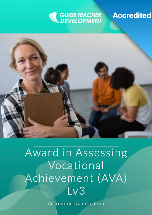 Award in Assessing Vocational Achievement (AVA) Lv3