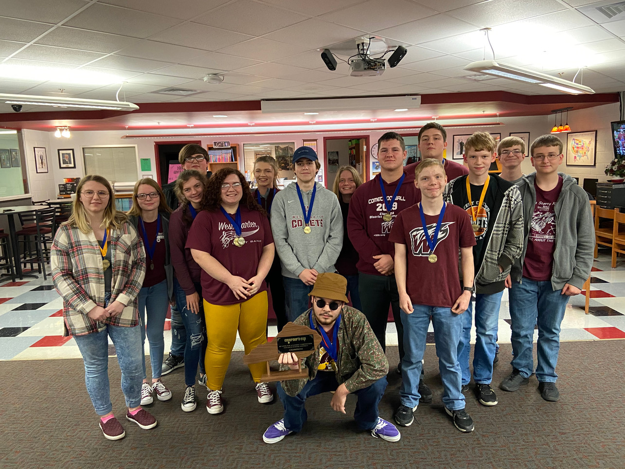 WCHS Academic Team