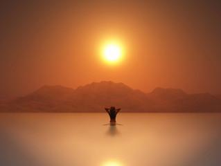 Утренние и вечерние практики с Солнцем.