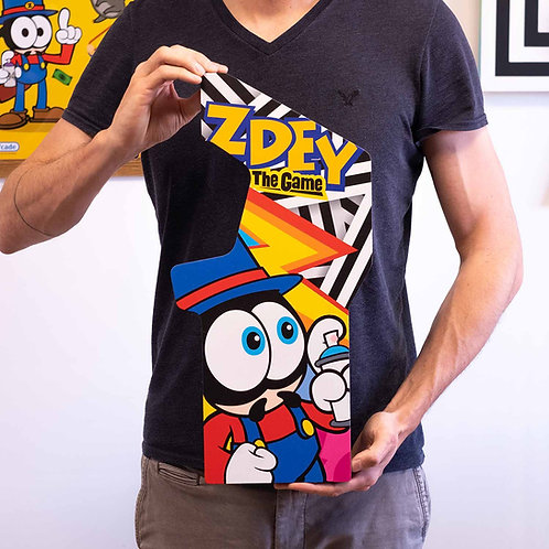 Artboard Tim Zdey The Game NES MDF Artcade