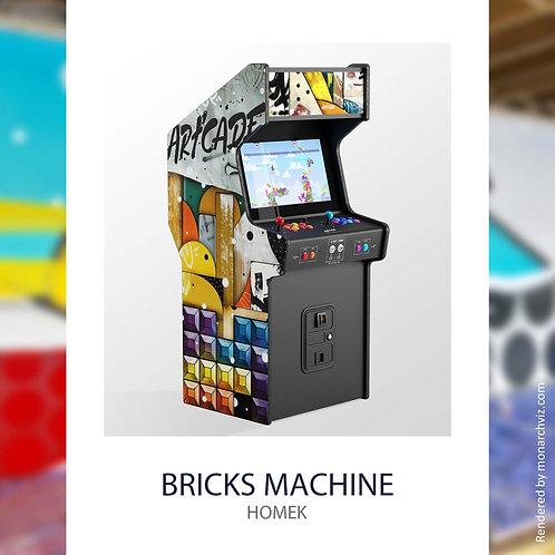 Homek, borne arcade retro