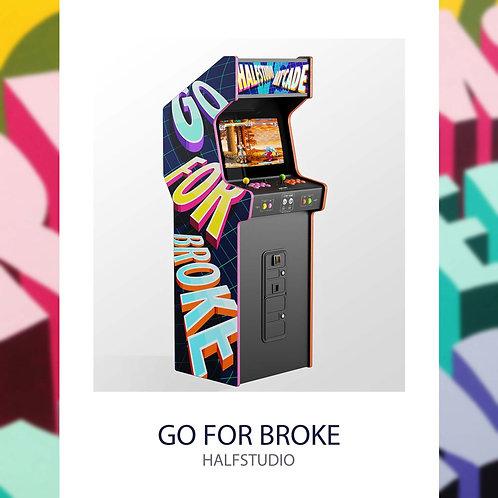 Half Studio, borne arcade street art