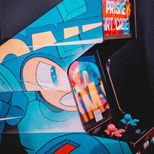 borne arcade unique, Mega Man, artiste Prisme