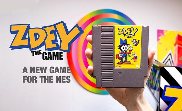 Zdey The Game Campaign press kit, jeu nintendo nes