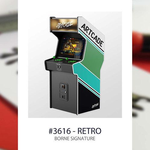 3615, borne arcade retro