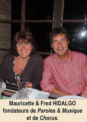 Fred & Mauricette Hidalgo