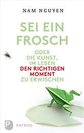 """Buchcover """"Sei ein Frosch"""""""