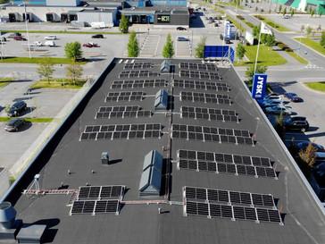 JYSK Oulu tuottaa itse 15% käyttämästään sähköstä