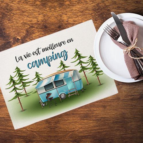Collection camping - La vie est meilleure en camping