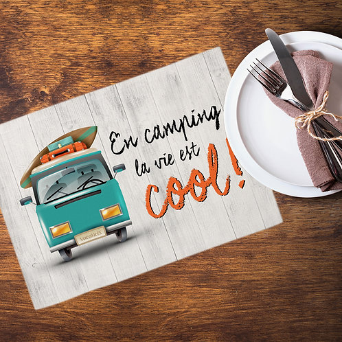 Collection camping - En camping la vie est cool!