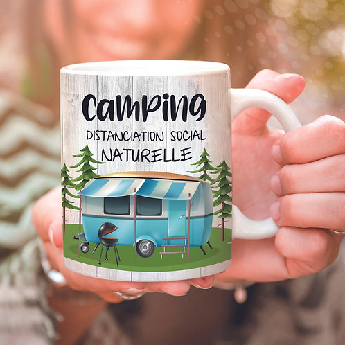 Collection camping - Camping - Distanciation social naturelle